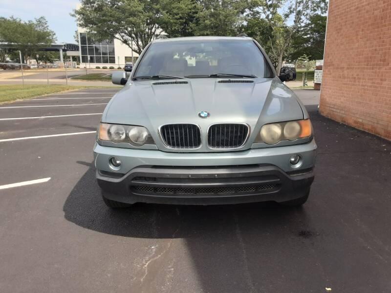 2003 BMW X5 for sale at Fredericksburg Auto Finance Inc. in Fredericksburg VA