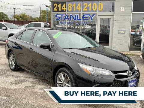 2015 Toyota Camry for sale at Stanley Automotive Finance Enterprise - STANLEY DIRECT AUTO in Mesquite TX