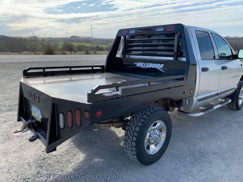 2021 Hillsboro Generation 2 Steel Flatbed for sale at Schrier Auto Body & Restoration in Cumberland IA