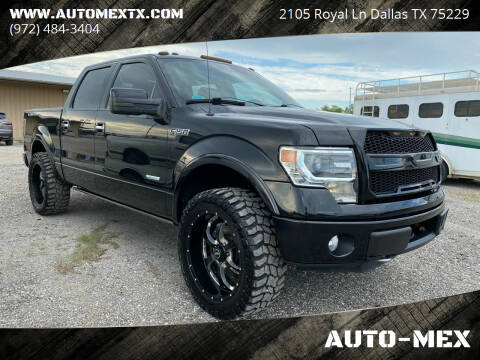 2013 Ford F-150 for sale at AUTO-MEX in Caddo Mills TX
