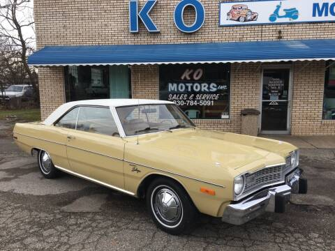 1973 Dodge Dart for sale at K O Motors in Akron OH