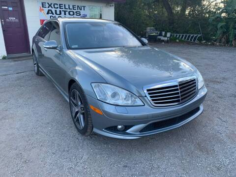2008 Mercedes-Benz S-Class for sale at Excellent Autos of Orlando in Orlando FL