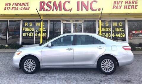 2008 Toyota Camry for sale at Ron Self Motor Company in Fort Worth TX