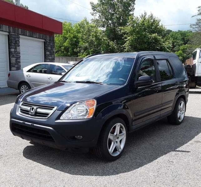 2004 Honda CR-V for sale at TEMPLE AUTO SALES in Zanesville OH