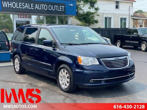 2013 Chrysler Town and Country for sale at MWS Wholesale  Auto Outlet in Grand Rapids MI