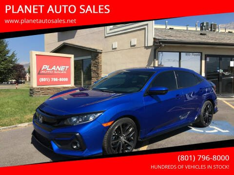 2020 Honda Civic for sale at PLANET AUTO SALES in Lindon UT