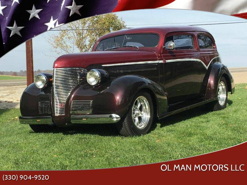 1939 Chevrolet Master Deluxe for sale at Ol Man Motors LLC in Louisville OH