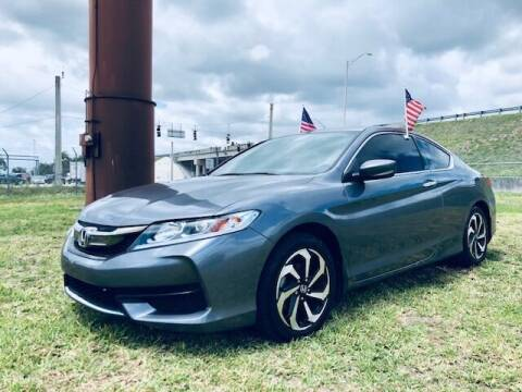 2016 Honda Accord for sale at Venmotors LLC in Hollywood FL