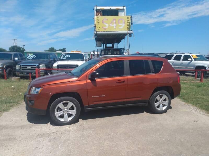 2012 Jeep Compass for sale at USA Auto Sales in Dallas TX