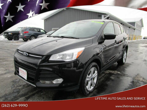 2014 Ford Escape for sale at Lifetime Auto Sales and Service in West Bend WI