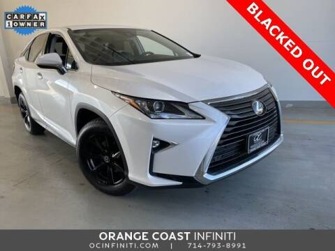 2018 Lexus RX 350 for sale at ORANGE COAST CARS in Westminster CA