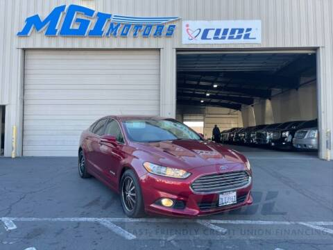 2013 Ford Fusion Hybrid for sale at MGI Motors in Sacramento CA