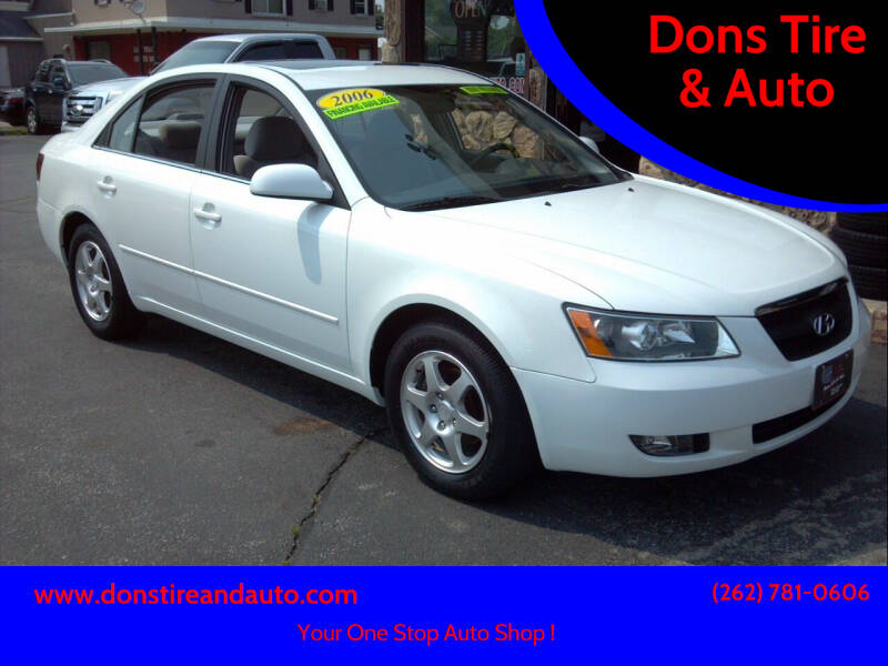2006 Hyundai Sonata for sale at Dons Tire & Auto in Butler WI