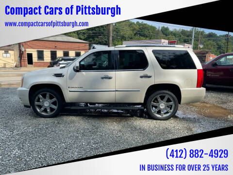2008 Cadillac Escalade for sale at Compact Cars of Pittsburgh in Pittsburgh PA