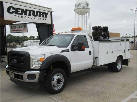 2013 Ford F-550 Super Duty for sale at CENTURY TRUCKS & VANS in Grand Prairie TX
