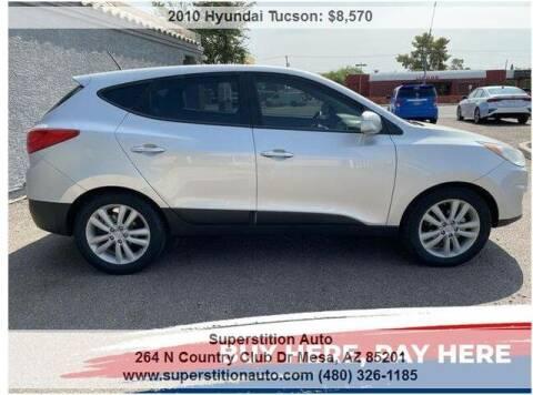 2010 Hyundai Tucson for sale at Superstition Auto in Mesa AZ