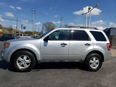 2011 Ford Escape for sale at COLONIAL AUTO SALES in North Lima OH