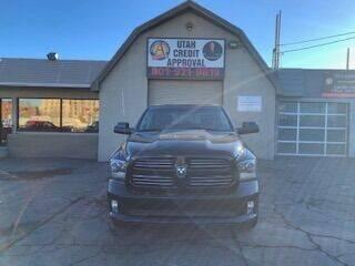 2016 RAM Ram Pickup 1500 for sale at Utah Credit Approval Auto Sales in Murray UT