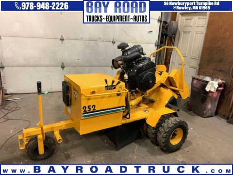 2012 Vermeer SC-252 for sale at Bay Road Trucks in Newbury MA