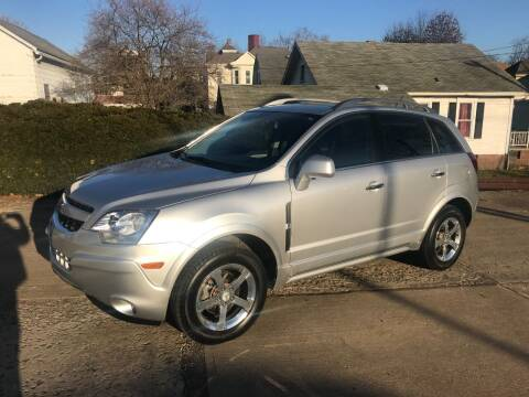 2012 Chevrolet Captiva Sport for sale at DALE'S PREOWNED AUTO SALES INC in Moundsville WV