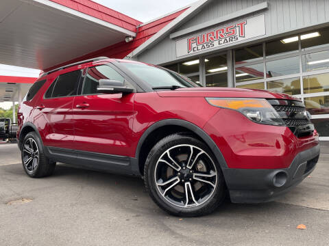 2015 Ford Explorer for sale at Furrst Class Cars LLC  - Independence Blvd. in Charlotte NC