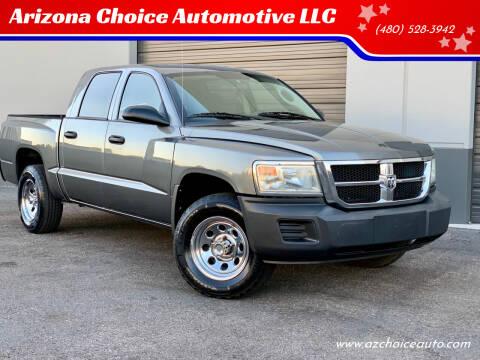 2008 Dodge Dakota for sale at Arizona Choice Automotive LLC in Mesa AZ