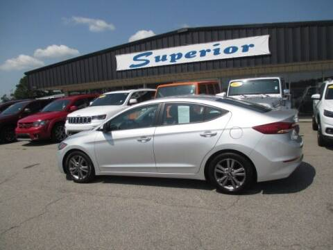 2017 Hyundai Elantra for sale at SUPERIOR CHRYSLER DODGE JEEP RAM FIAT in Henderson NC