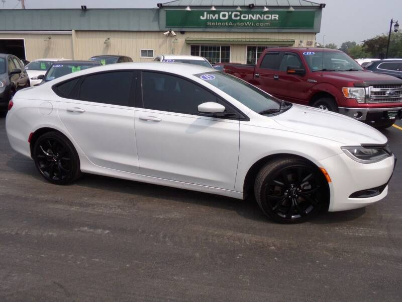 2015 Chrysler 200 for sale at Jim O'Connor Select Auto in Oconomowoc WI