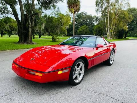 1987 Chevrolet Corvette for sale at FLORIDA MIDO MOTORS INC in Tampa FL