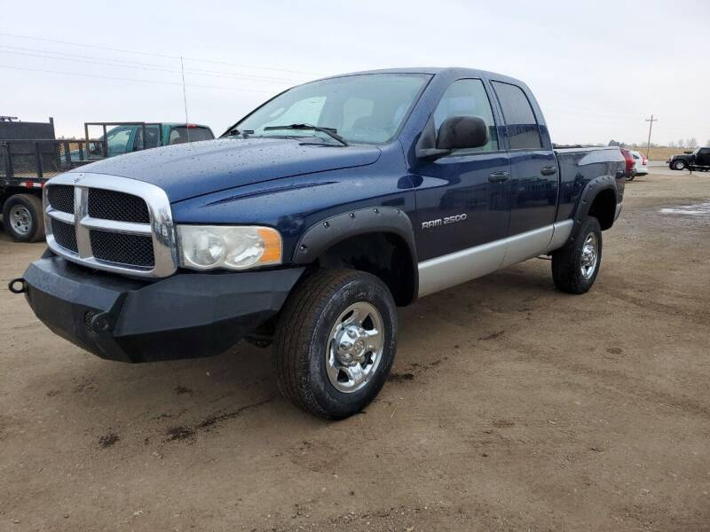 2003 Dodge Ram Pickup 2500 for sale at HORSEPOWER AUTO BROKERS in Fort Collins CO