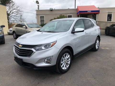 2019 Chevrolet Equinox for sale at Saipan Auto Sales in Houston TX