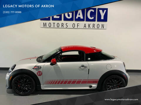 2013 MINI Coupe for sale at LEGACY MOTORS OF AKRON in Akron OH