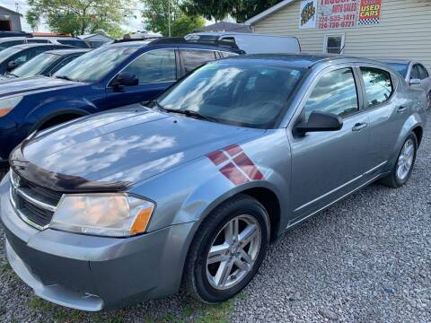 2008 Dodge Avenger for sale at Trocci's Auto Sales in West Pittsburg PA