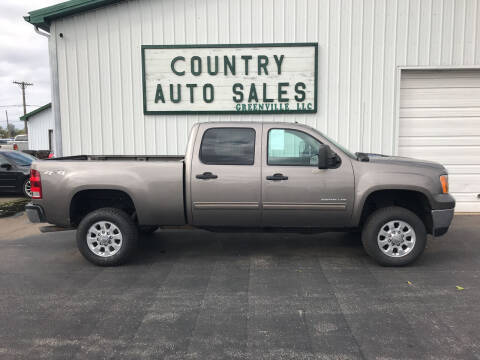2013 GMC Sierra 2500HD for sale at COUNTRY AUTO SALES LLC in Greenville OH