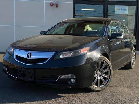 2014 Acura TL for sale at MAGIC AUTO SALES in Little Ferry NJ