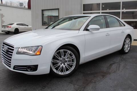2014 Audi A8 for sale at Platinum Motors LLC in Reynoldsburg OH