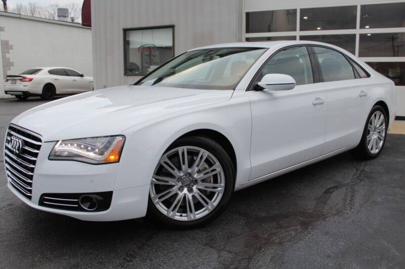 2014 Audi A8 for sale at Platinum Motors LLC in Reynoldsburg OH