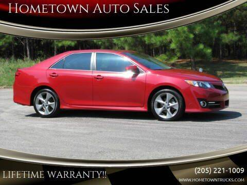 2013 Toyota Camry for sale at Hometown Auto Sales - Cars in Jasper AL