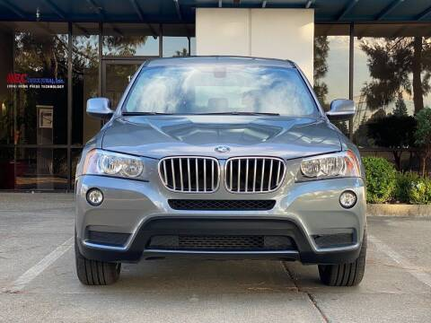 2014 BMW X3 for sale at CARFORNIA SOLUTIONS in Hayward CA