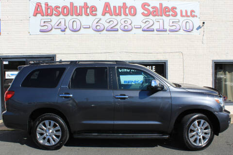 2011 Toyota Sequoia for sale at Absolute Auto Sales in Fredericksburg VA