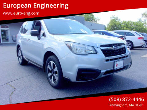 2017 Subaru Forester for sale at European Engineering in Framingham MA