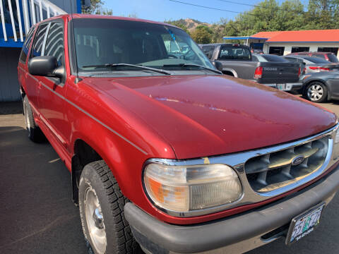 1998 Ford Explorer for sale at City Center Cars and Trucks in Roseburg OR