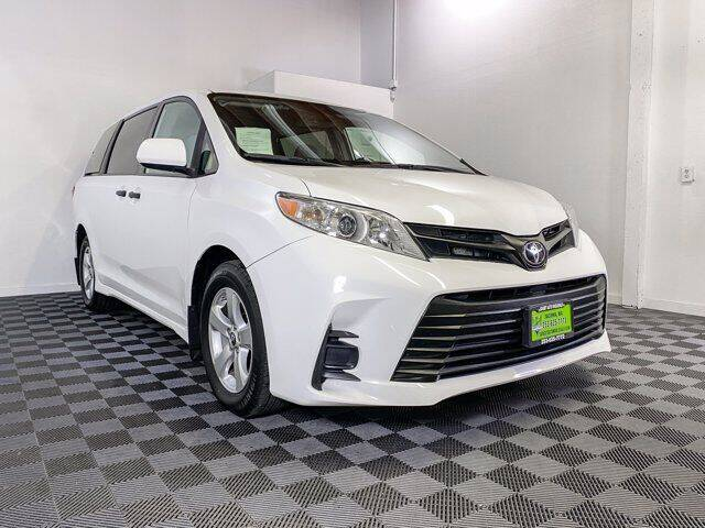 2019 Toyota Sienna for sale at Sunset Auto Wholesale in Tacoma WA
