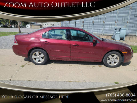 2007 Ford Fusion for sale at Zoom Auto Outlet LLC in Thorntown IN
