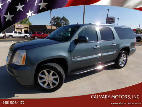 2008 GMC Yukon XL for sale at Calvary Motors, Inc. in Bixby OK