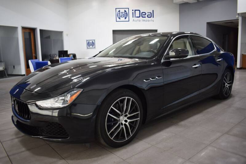2017 Maserati Ghibli for sale at iDeal Auto Imports in Eden Prairie MN