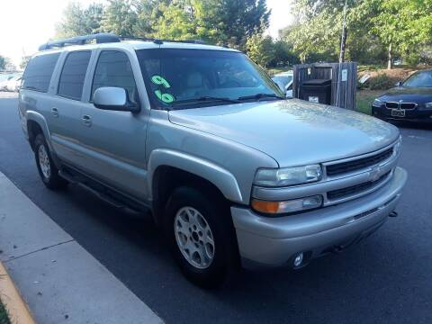2005 Chevrolet Suburban for sale at M & M Auto Brokers in Chantilly VA