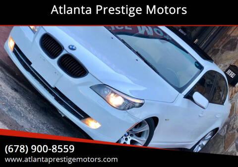 2008 BMW 5 Series for sale at Atlanta Prestige Motors in Decatur GA