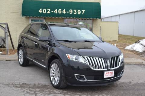 2013 Lincoln MKX for sale at Eastep's Wheels in Lincoln NE