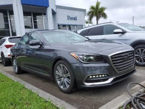 2019 Genesis G80 for sale at DORAL HYUNDAI in Doral FL